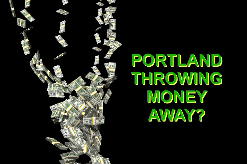 Throwing Money Away Portland, Oregon - image.